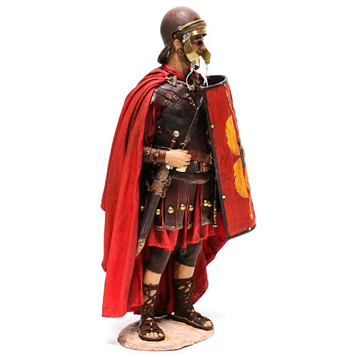 Standing Roman soldier, 30 cm Angela Tripi Nativity figurine 5