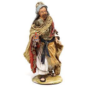 Roi Mage debout avec cadeau 13 cm Angela Tripi s4