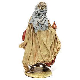 Roi Mage debout avec cadeau 13 cm Angela Tripi s5