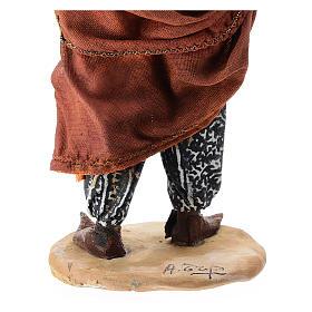 Nativity scene figurine, servant with umbrella 18 cm by Angela Tripi s7