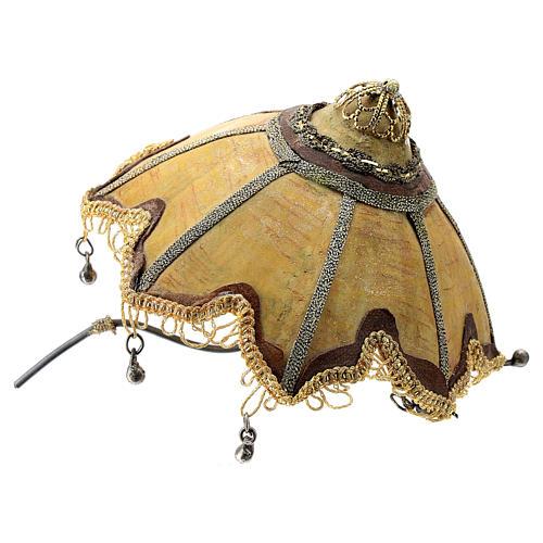 Siervo con paraguas 18 cm Angela Tripi 9