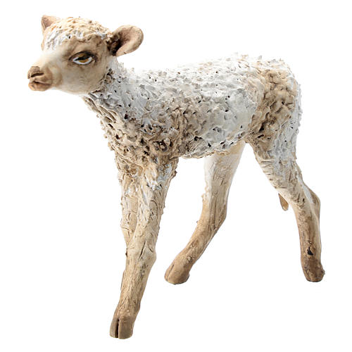Nativity scene figurine, standing lamb 30 cm by Angela Tripi 2