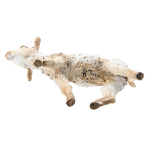 Nativity scene figurine, standing lamb 30 cm by Angela Tripi 5