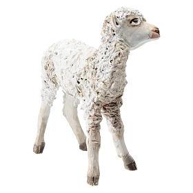 Pecorella in piedi 30 cm per presepi Angela Tripi s3