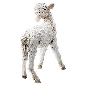 Pecorella in piedi 30 cm per presepi Angela Tripi s4