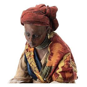 Femme meure qui lave son linge 13 cm Angela Tripi s2
