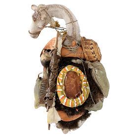 Chameau debout avec chargement 40 cm Angela Tripi s13