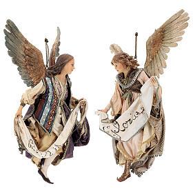 Couple Anges Gloire 30 cm Angela Tripi s1
