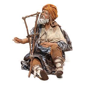 Mendicante seduto 18 cm Angela Tripi s1