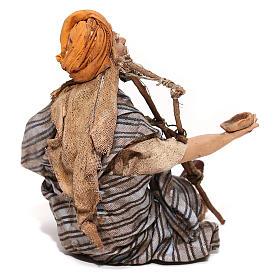 Mendicante seduto 18 cm Angela Tripi s5
