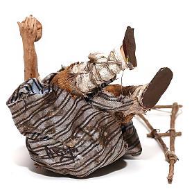 Mendicante seduto 18 cm Angela Tripi s6