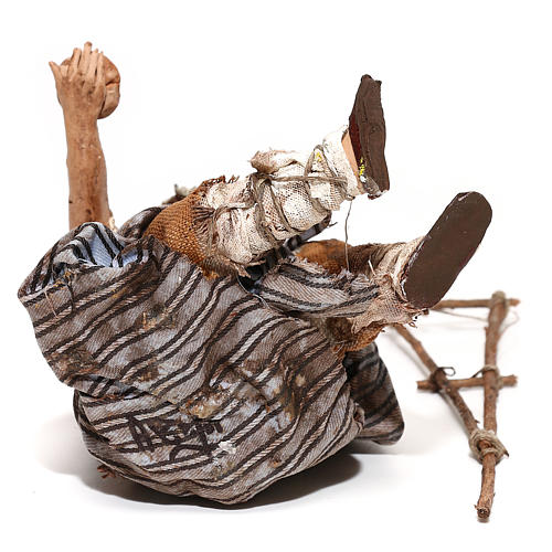 Mendicante seduto 18 cm Angela Tripi 6