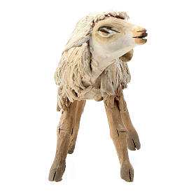 Nativity scene figurine, Sheep by Angela Tripi 13 cm s2