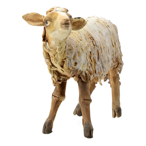 Pecorella che guarda in alto 13 cm Tripi 2