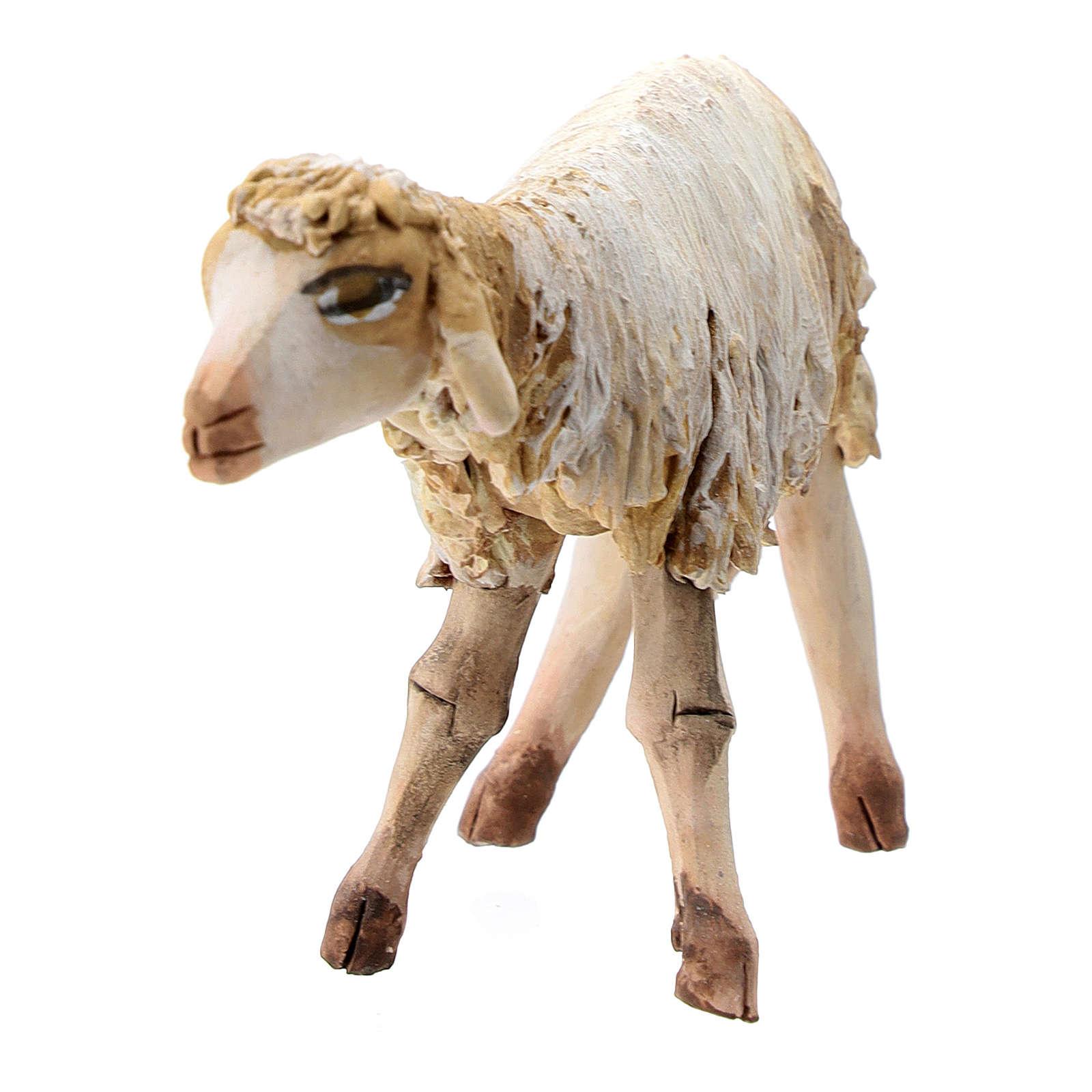 Mouton terre cuite debout 13 cm Angela Tripi 4