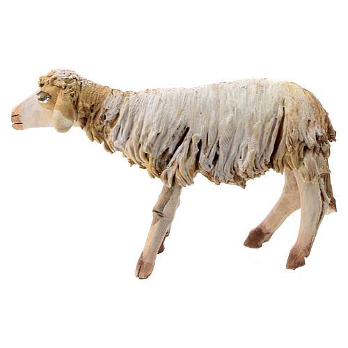 Mouton terre cuite debout 13 cm Angela Tripi 1