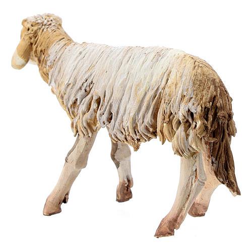 Mouton terre cuite debout 13 cm Angela Tripi 3