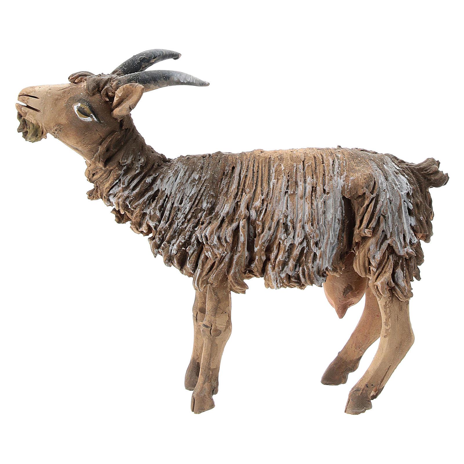 Chèvre terre cuite 13 cm Angela Tripi 4