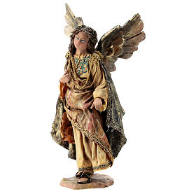 Nativity scene figurine, Angel messenger (standing) by Angela Tripi 13 cm s3