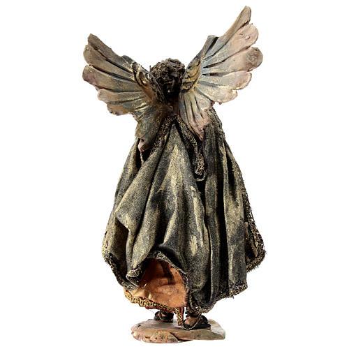 Nativity scene figurine, Angel messenger (standing) by Angela Tripi 13 cm 5