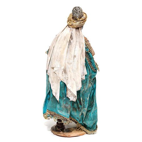 Re Magio moro in piedi 13 cm Angela Tripi 5