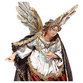 Nativity scene figurine, Angel messenger (to hang) by Angela Tripi 13 cm s2