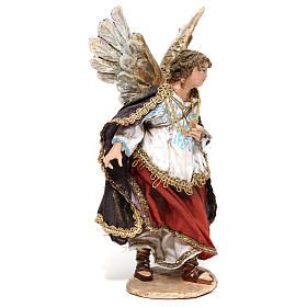 Nativity scene figurine, Angel messenger (to hang) by Angela Tripi 13 cm s3