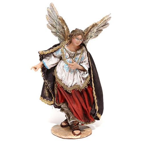 Nativity scene figurine, Angel messenger (to hang) by Angela Tripi 13 cm 1