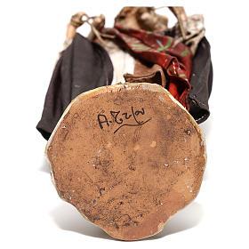 Pastore con pecora sulle spalle 13 cm Angela Tripi s6