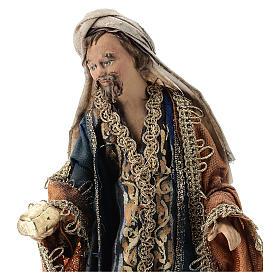 Rey Mago con cofre 13 cm Angela Tripi s2