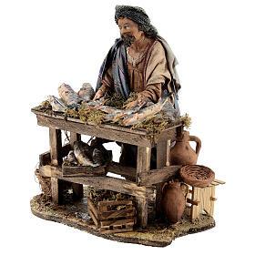 Nativity scene figurine, Fishmonger by Angela Tripi 13 cm s3