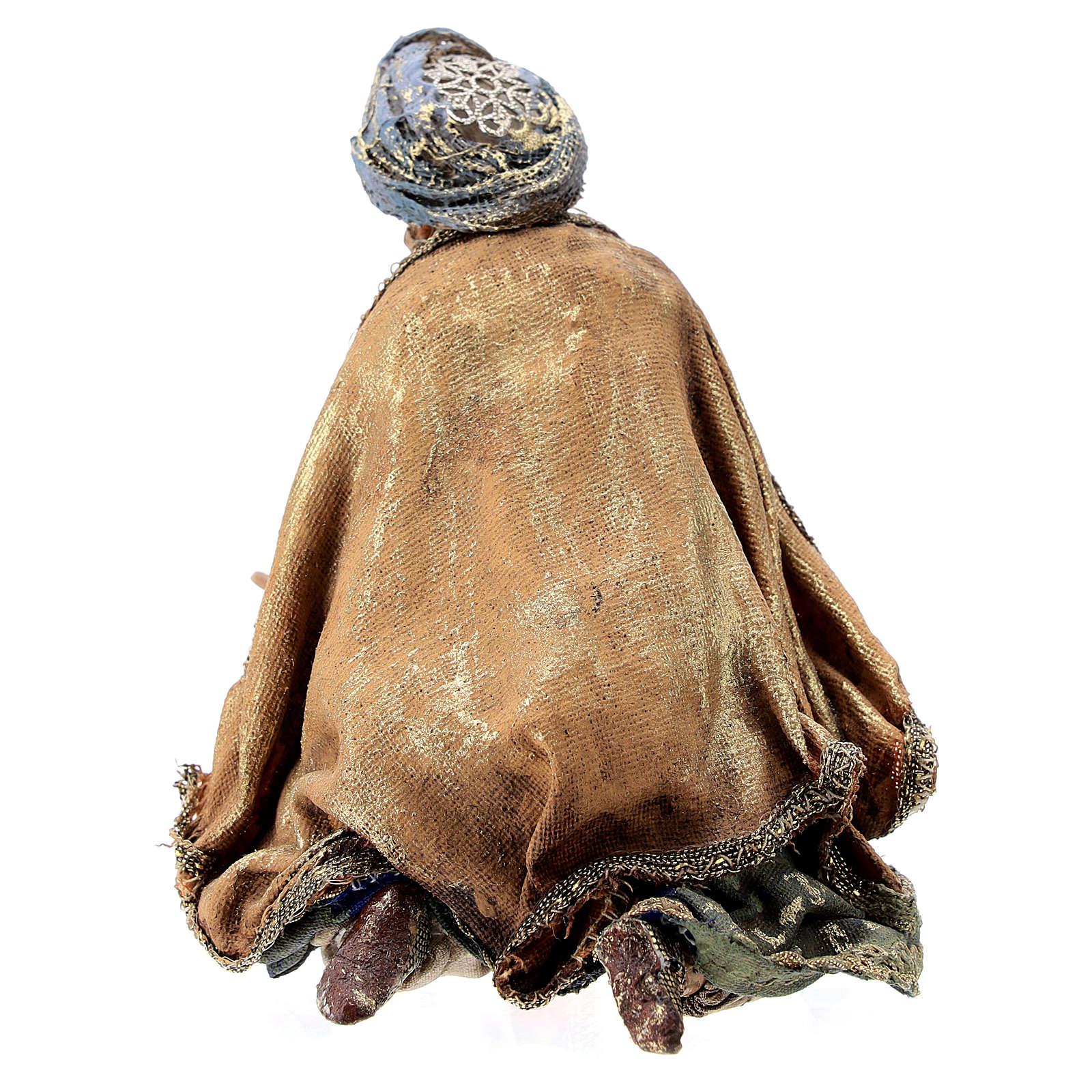 Rey Mago de rodillas 13 cm Angela Tripi 4
