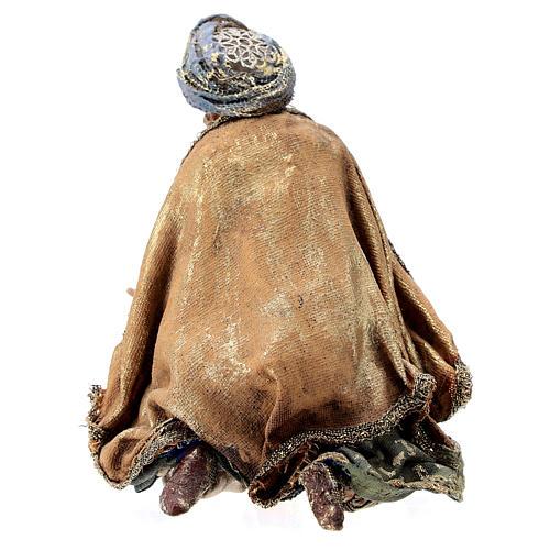 Roi Mage à genoux 13 cm Angela Tripi 5