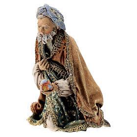 Re Magio in ginocchio 13 cm Angela Tripi s3