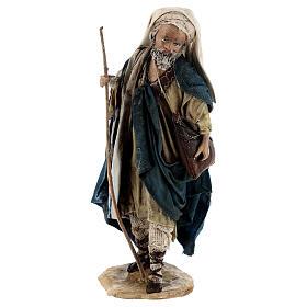 Pastore con gregge 13 cm creazione Angela Tripi s5