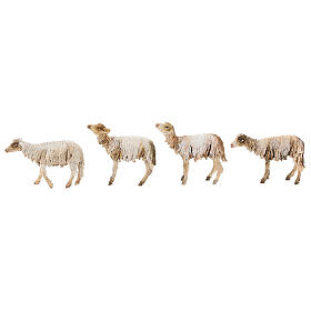 Pastore con gregge 13 cm creazione Angela Tripi s7