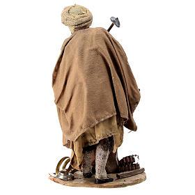 Nativity scene figurine, Blacksmith at work by Angela Tripi 13 cm s6