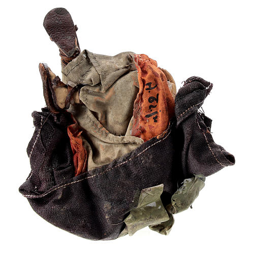 Nativity scene figurine, Amazed shepherd by Angela Tripi 13 cm 6