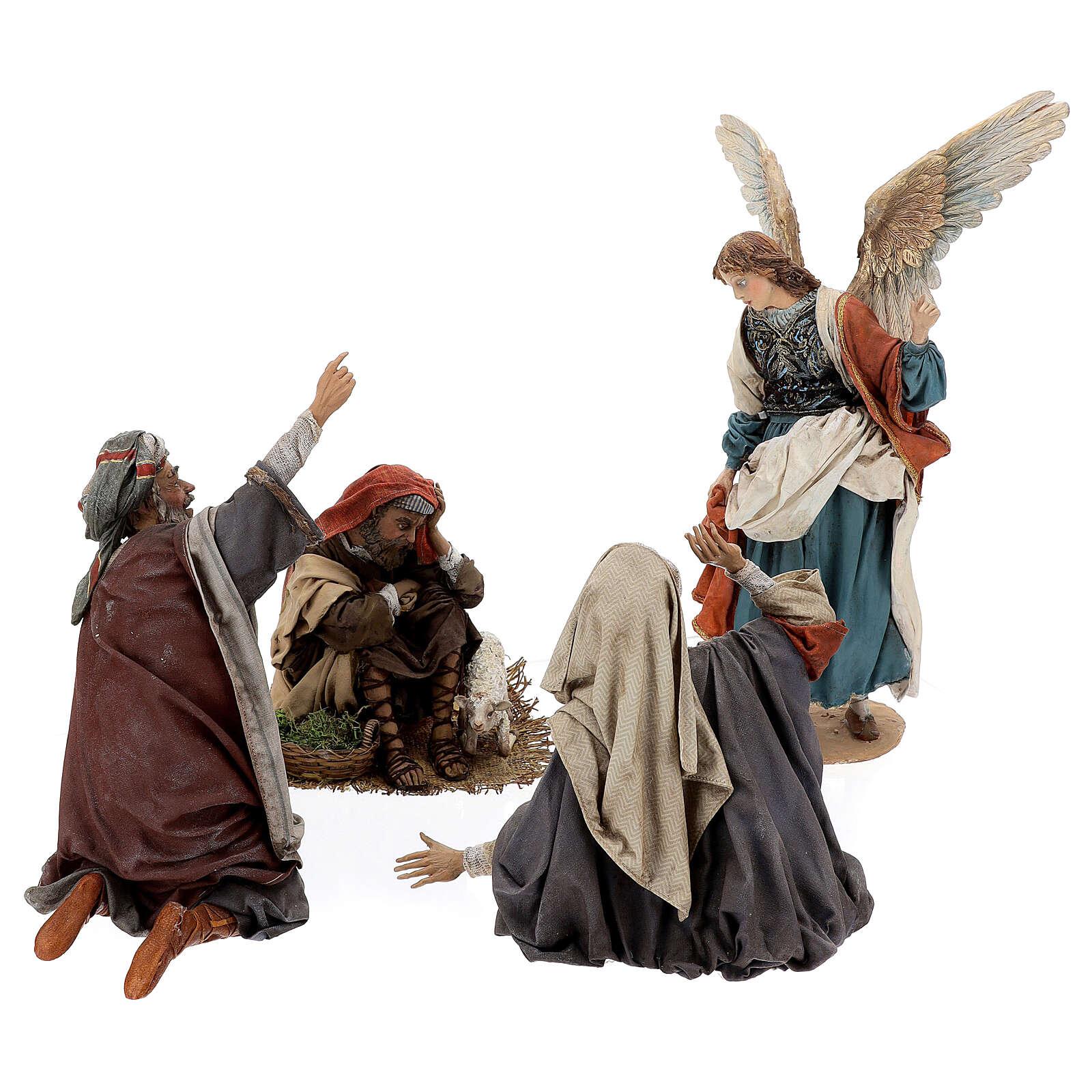 Escena: Anunciación a los Pastores 30 cm - Angela Tripi 4