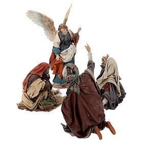 Escena: Anunciación a los Pastores 30 cm - Angela Tripi s5