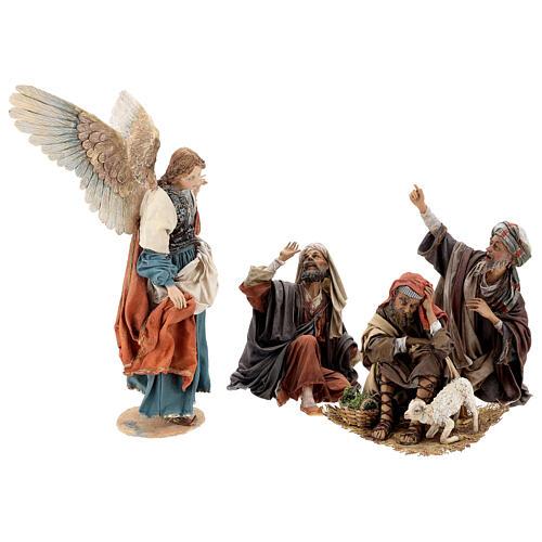 Escena: Anunciación a los Pastores 30 cm - Angela Tripi 3