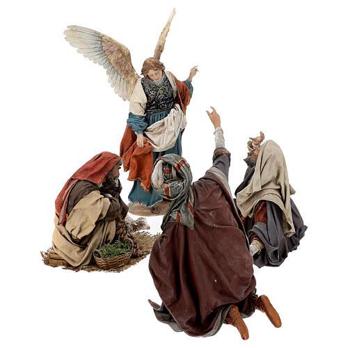 Escena: Anunciación a los Pastores 30 cm - Angela Tripi 5