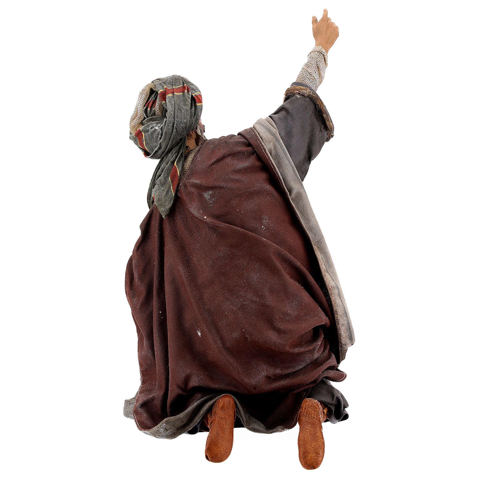Scena: Annuncio ai Pastori 30 cm - Angela Tripi 4
