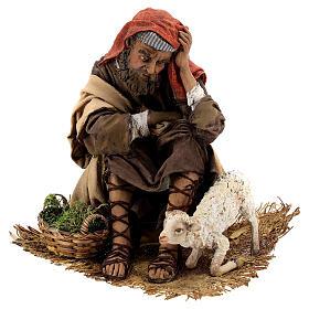 Scene: Announcement to the Shepherds, 30 cm - Angela Tripi s11