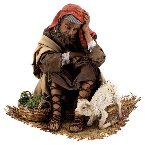 Scene: Announcement to the Shepherds, 30 cm - Angela Tripi 11