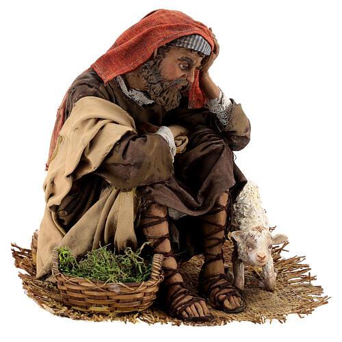 Scene: Announcement to the Shepherds, 30 cm - Angela Tripi 16