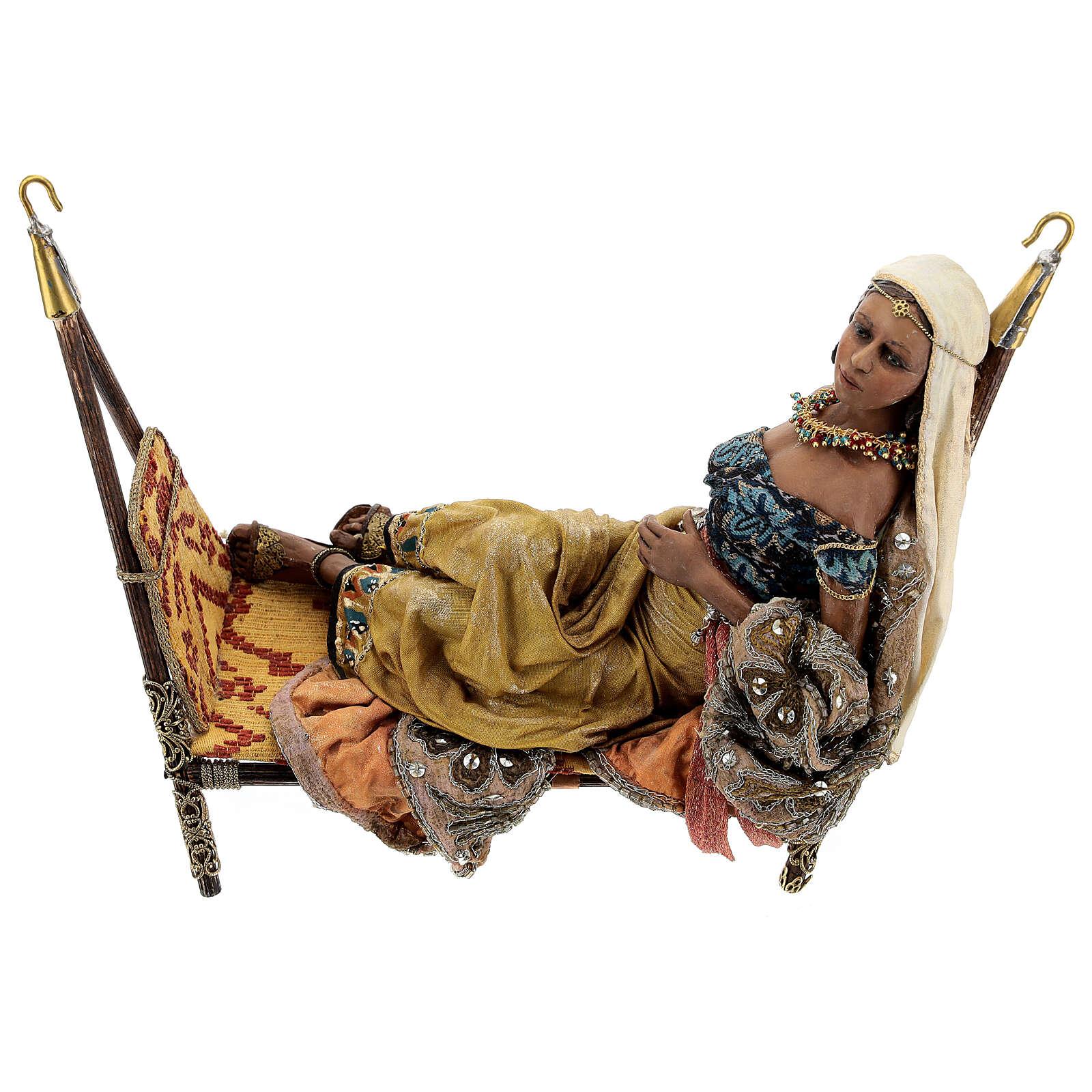 Scène Reine de Saba 30 cm Angela Tripi 4