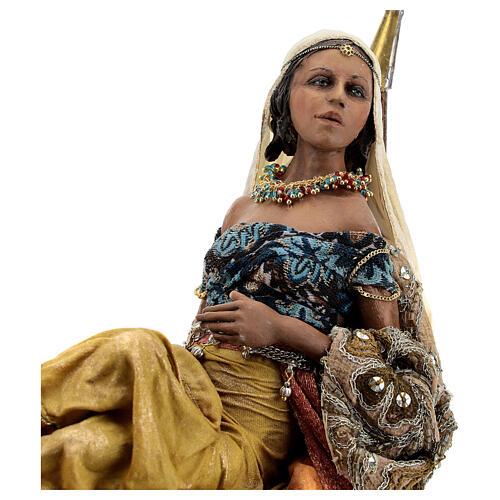 Scène Reine de Saba 30 cm Angela Tripi 3