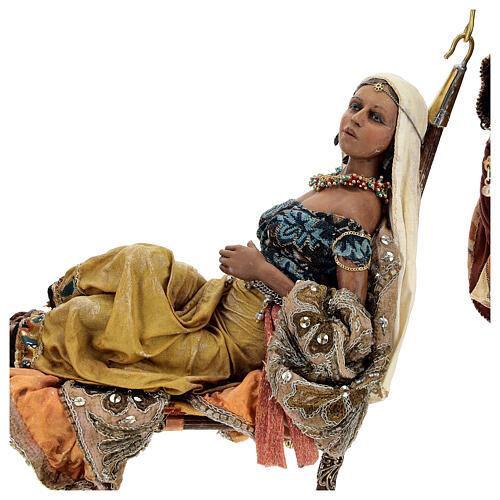 Scène Reine de Saba 30 cm Angela Tripi 5