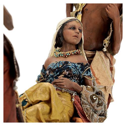 Scène Reine de Saba 30 cm Angela Tripi 9